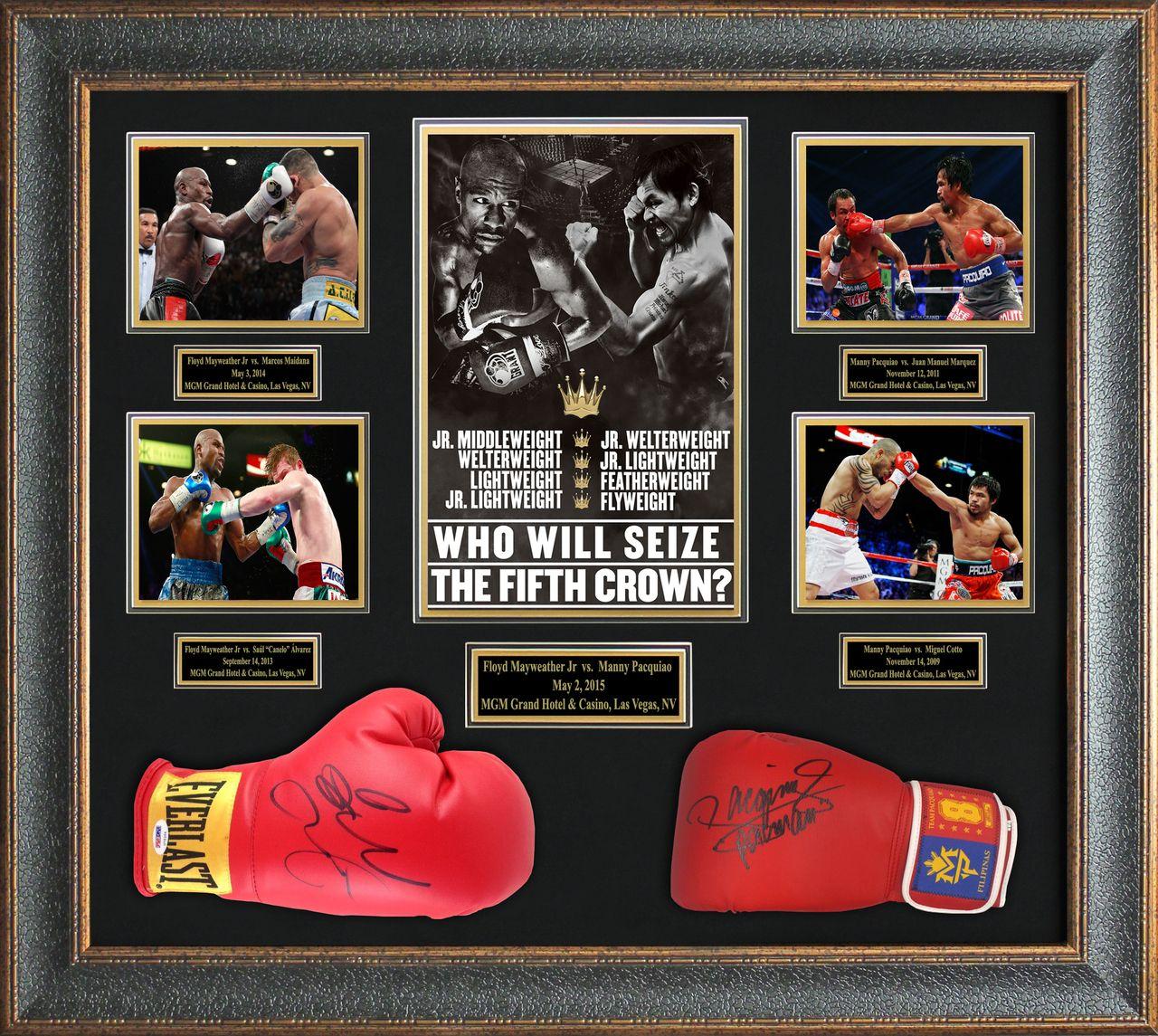 Autographed Boxing Memorabilia