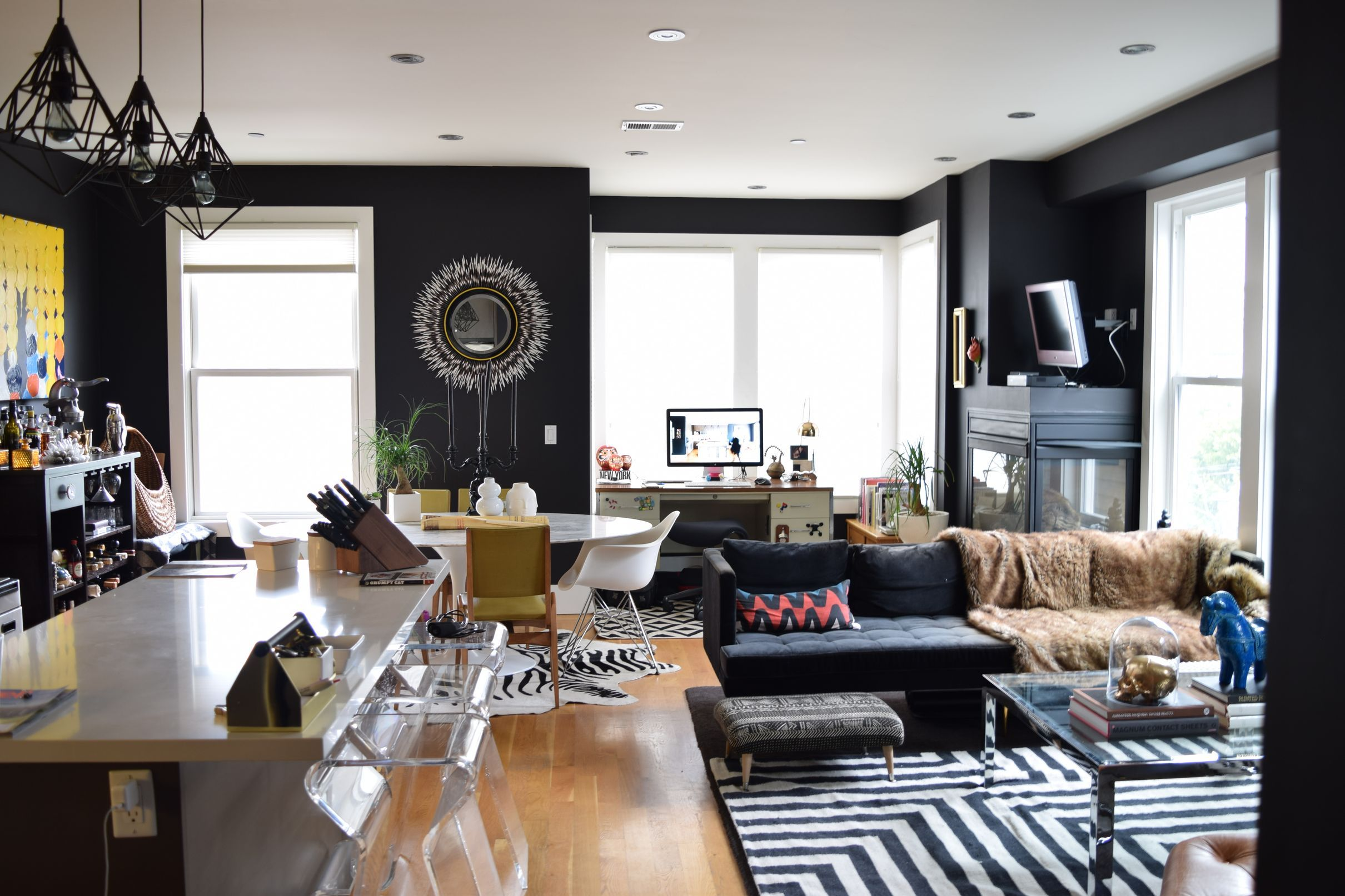 The New Dark Ages: Best Black Paints For Your Interior