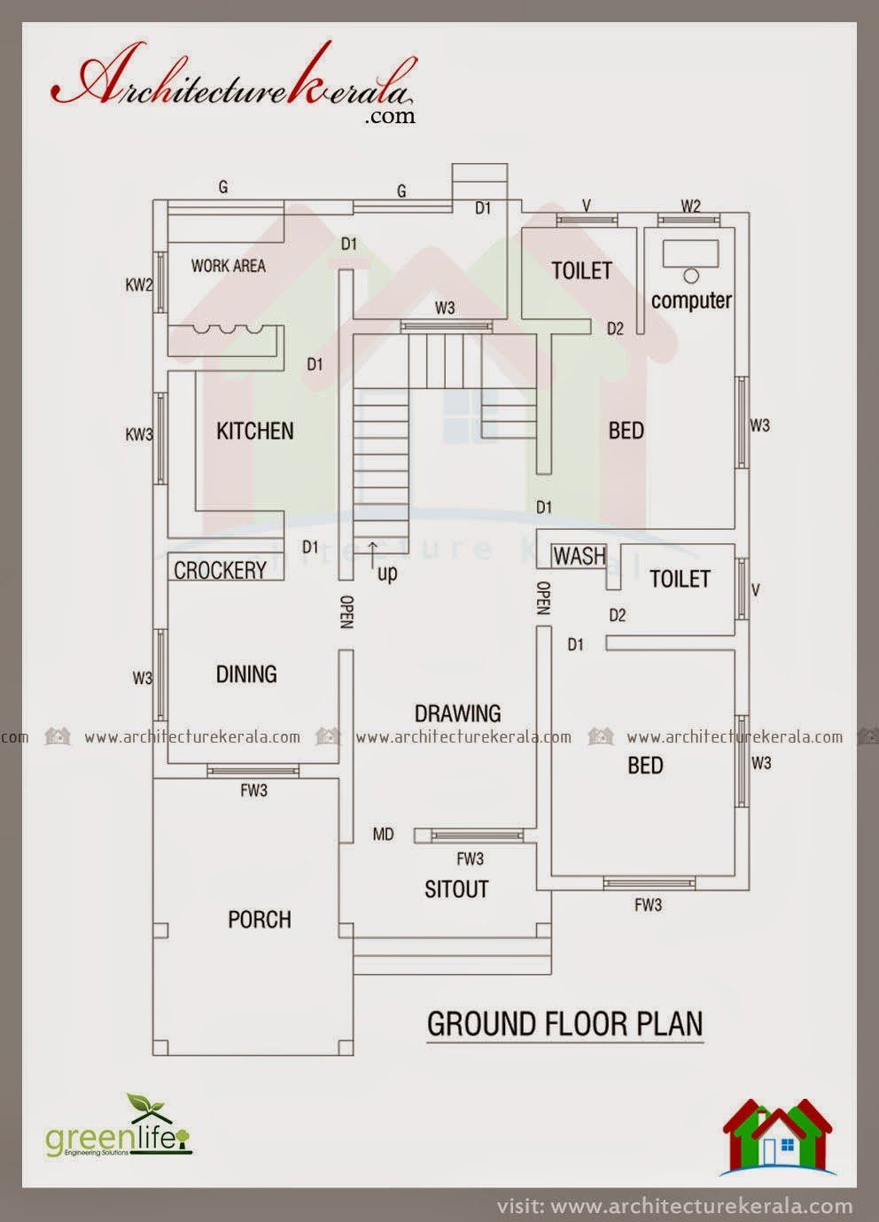 Autocad House Drawings Samples Dwg 2020