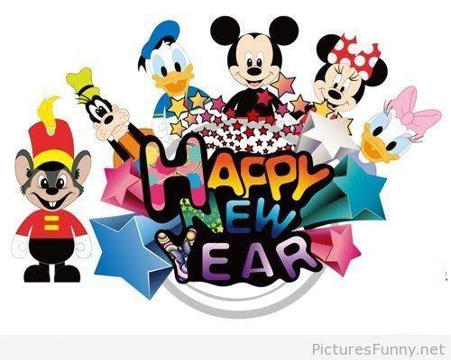 disney funny cartoon new year wallpaper disney happy new year disney new years eve