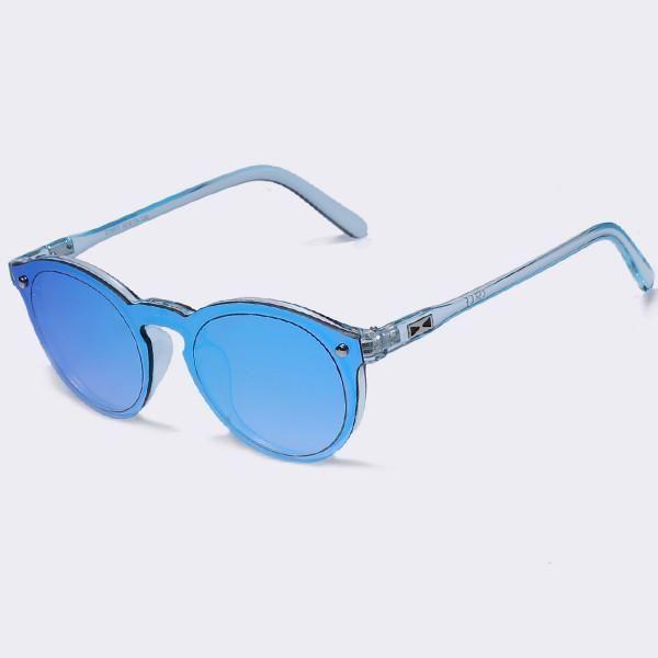 8fab72f71e730 Oval Fashion Candy Color Retro Mirror Sunglasses