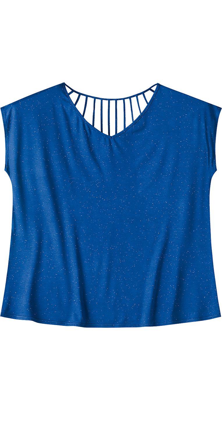 34cd8ee68 Blusa Viscose Botonê Azul Wee! Plus Size. #modaplussize #roupasplussize  #roupasfemininas #