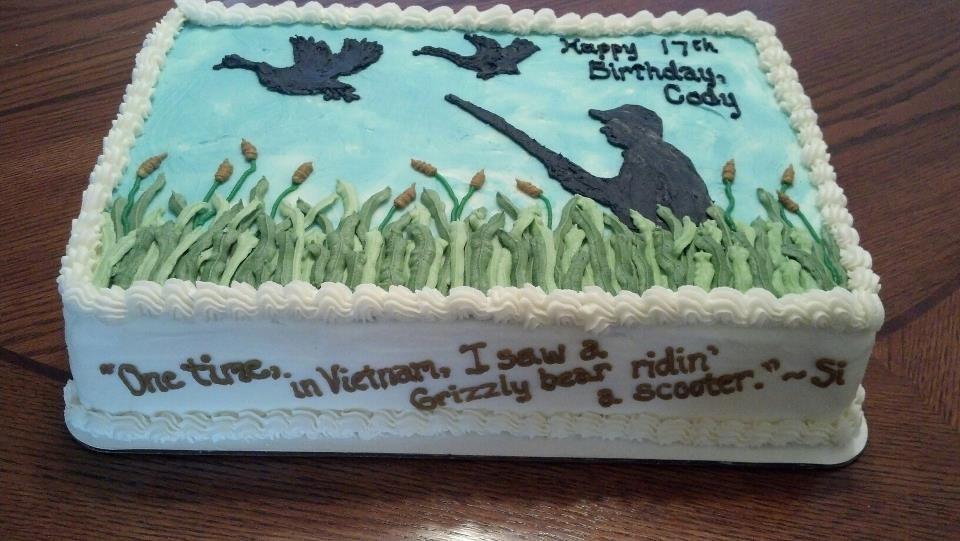 duck dynasty birthday cake toppers kristilovescakes Birthday