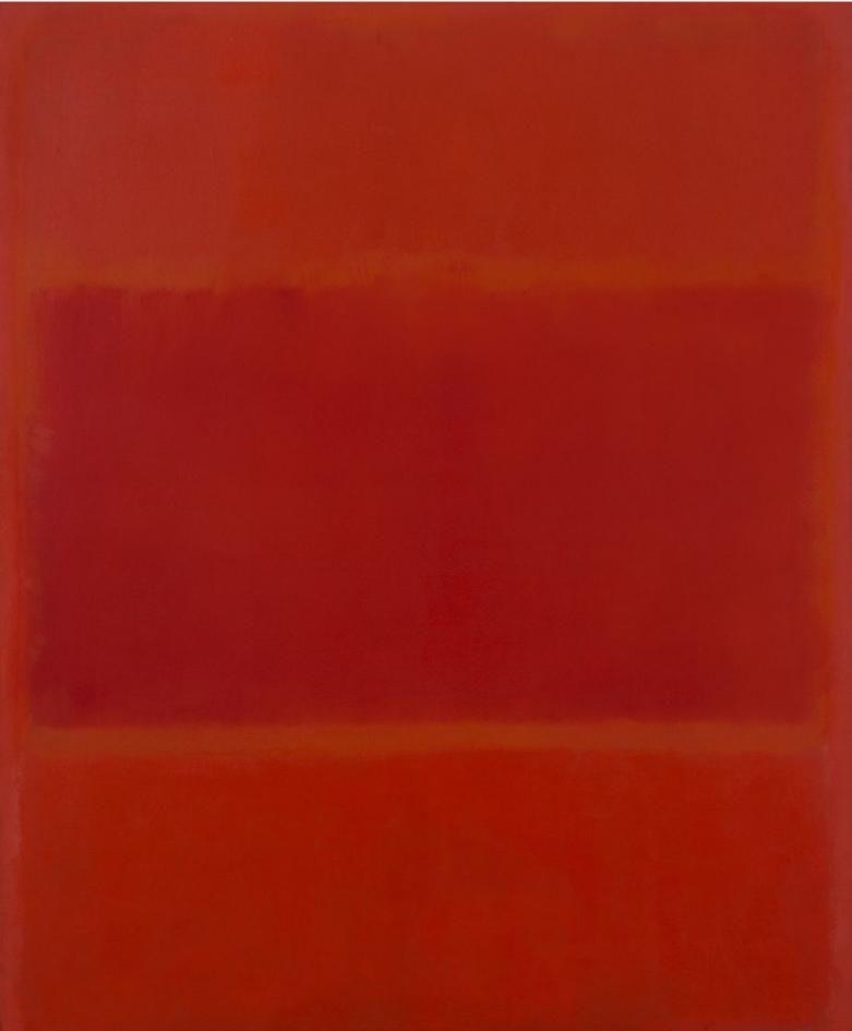 Red and Orange - Mark Rothko