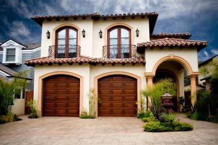 Modern Ideas And Designs For Garage Doors Spanish Style Homes Garage Doors Spanish House