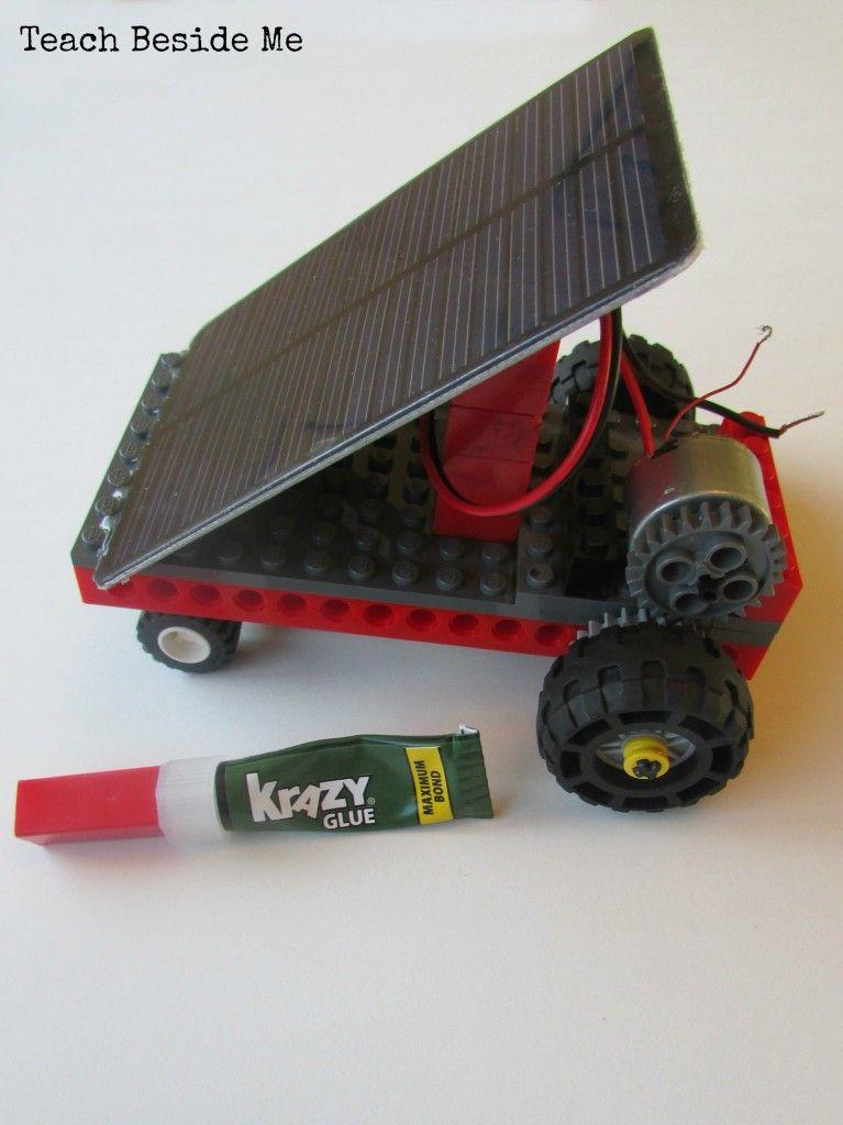 Solar Powered LEGO Car Solar powered cars, Solar