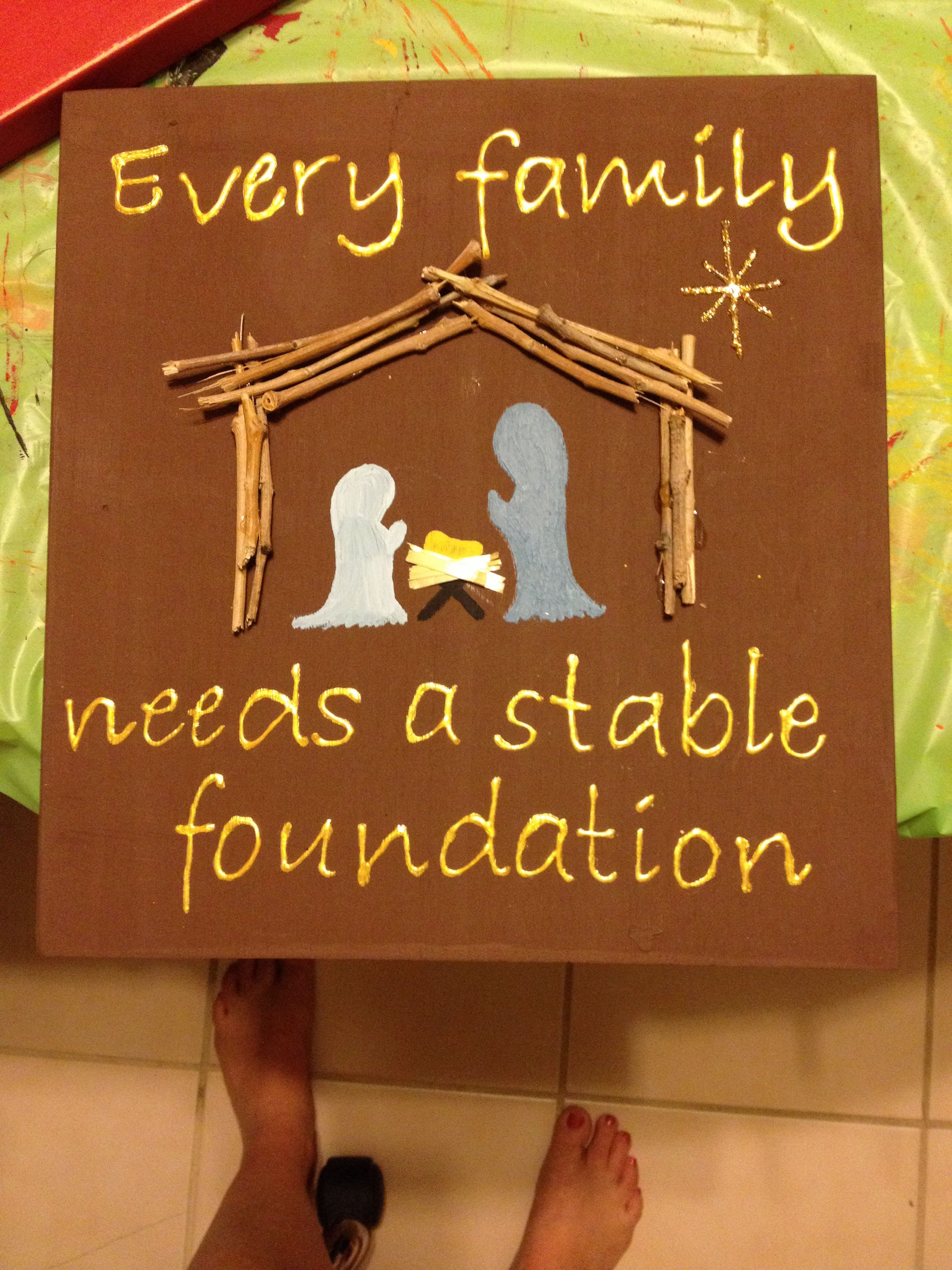 Every Family Needs A Stable Foundation