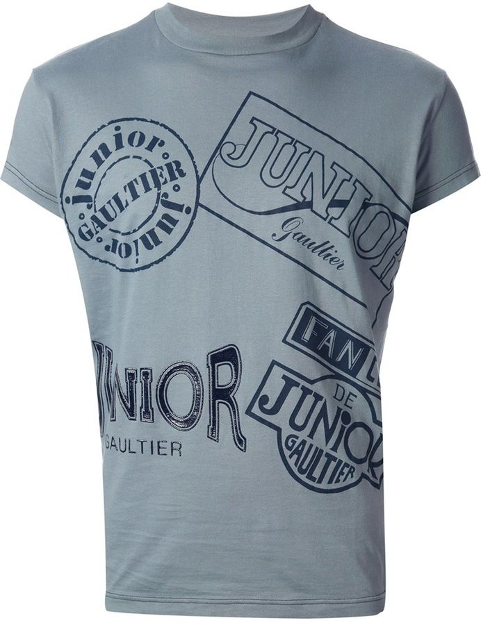 Jean Paul Gaultier Vault Junior Gautier print t-shirt on shopstyle.co.uk