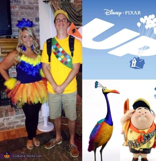 Russell & Kevin from Up Costume | Costumes, Halloween costumes and ...