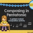 ***Best Seller***  This product is geared toward 2nd grade students or older students who've studied the pentatonic scale (d,r,m,s,l). The composin...