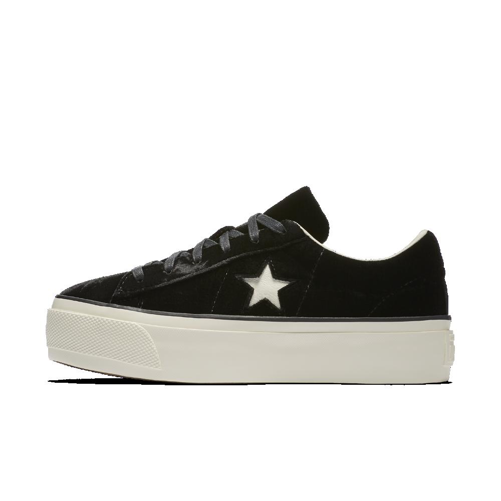 Converse One Star Velvet Platform Low Top Women's Shoe Size