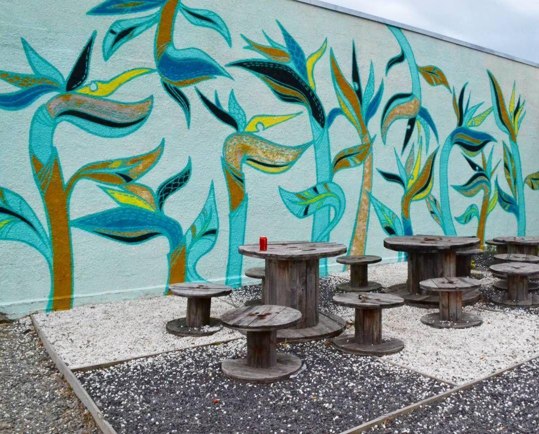 Graffiti wall christchurch - An Outdoor Eating Area Streetart Christchurch Newzealand Graffiti Graphics