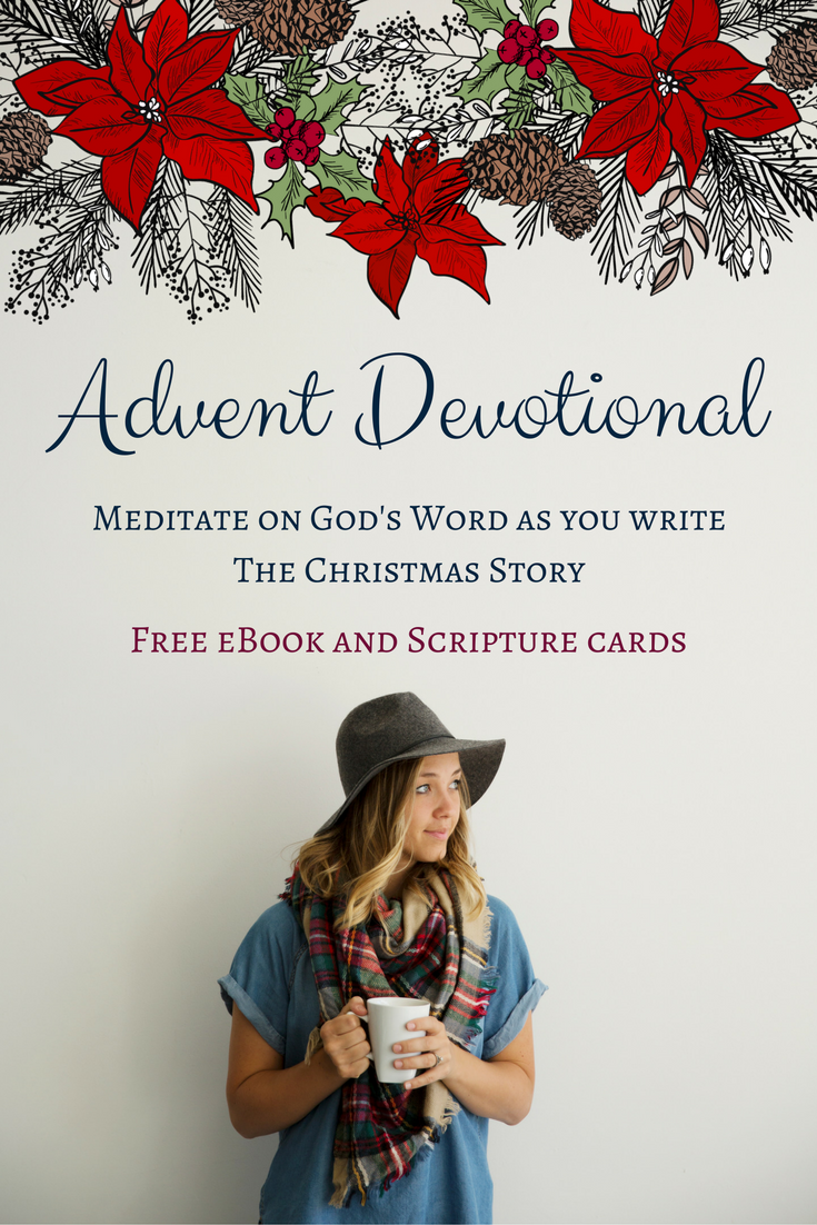 free 28 day advent ebook with printable scripture cards write the story of christmas as - Christmas Scripture For Cards