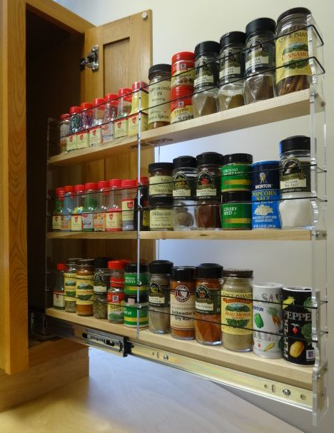 Awesome Wire Spice Racks for Cabinets