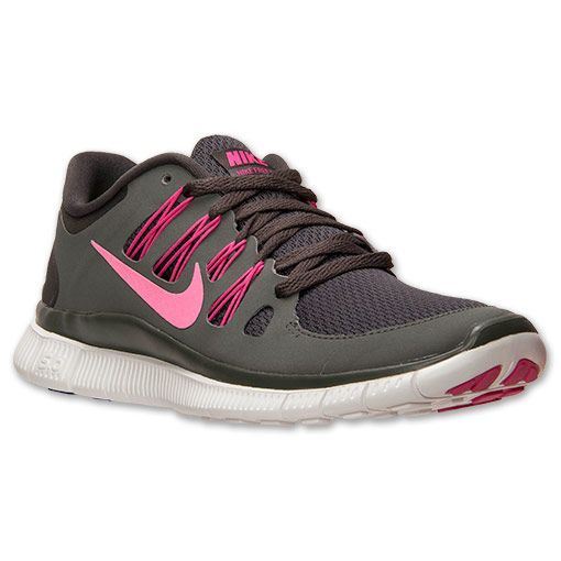 on sale cbd7c 992cc Women s Nike Free 5.0+ Running Shoes   FinishLine.com   Charred Grey Pink  Fluo Mercury Grey
