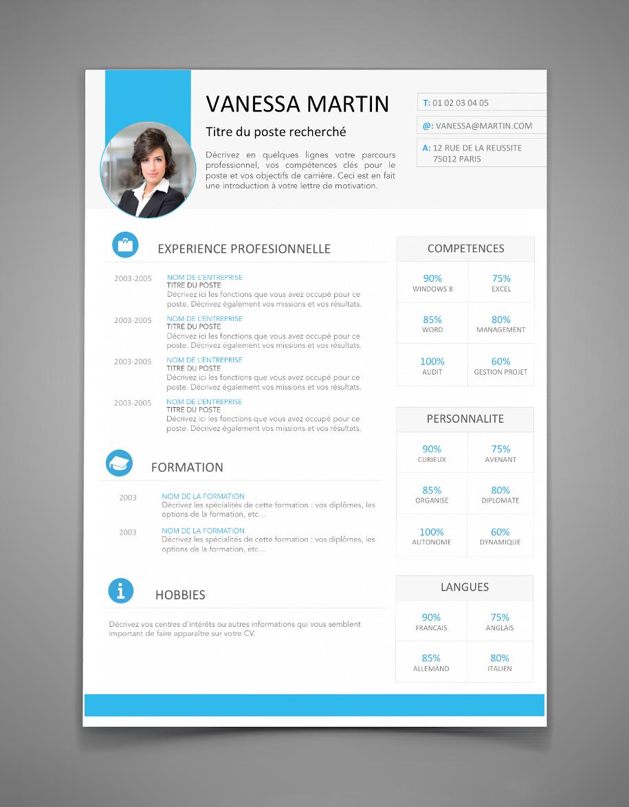 Cv 9 Cv Original A Telecharger Maxi Cv Downloadable Resume Template Cv Design Free Resume Template Download