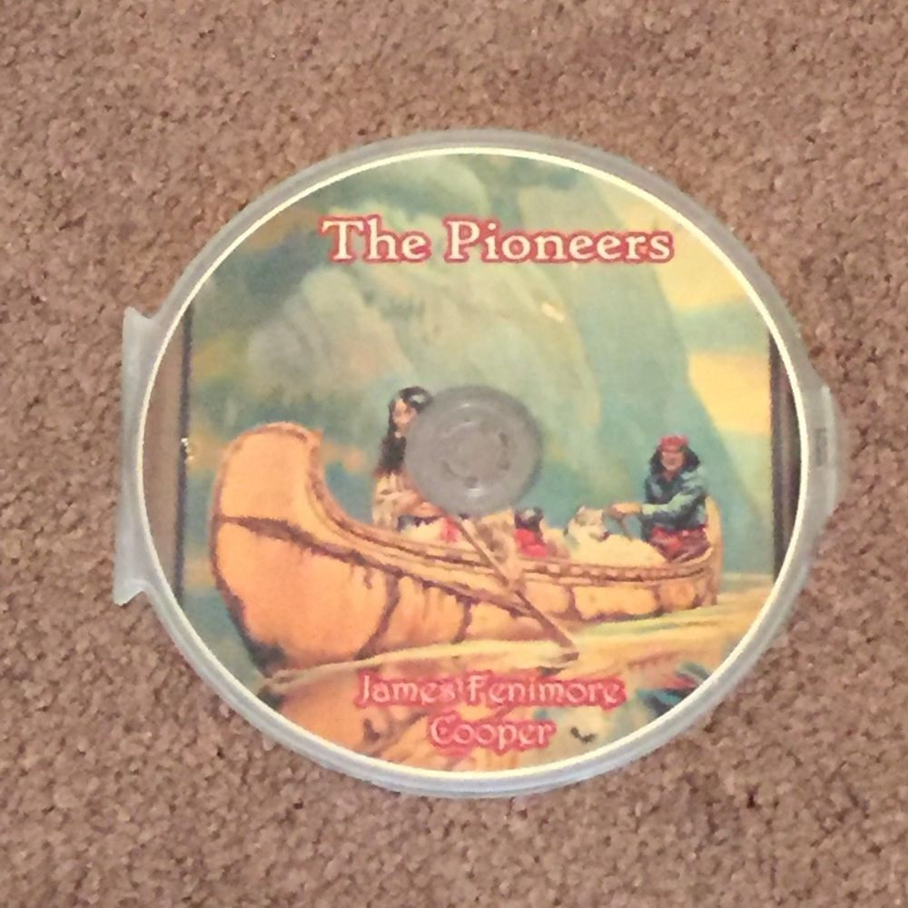 The Pioneers by James Fenimore Cooper MP3 (CD, Audio Books, Adventure) Brand New