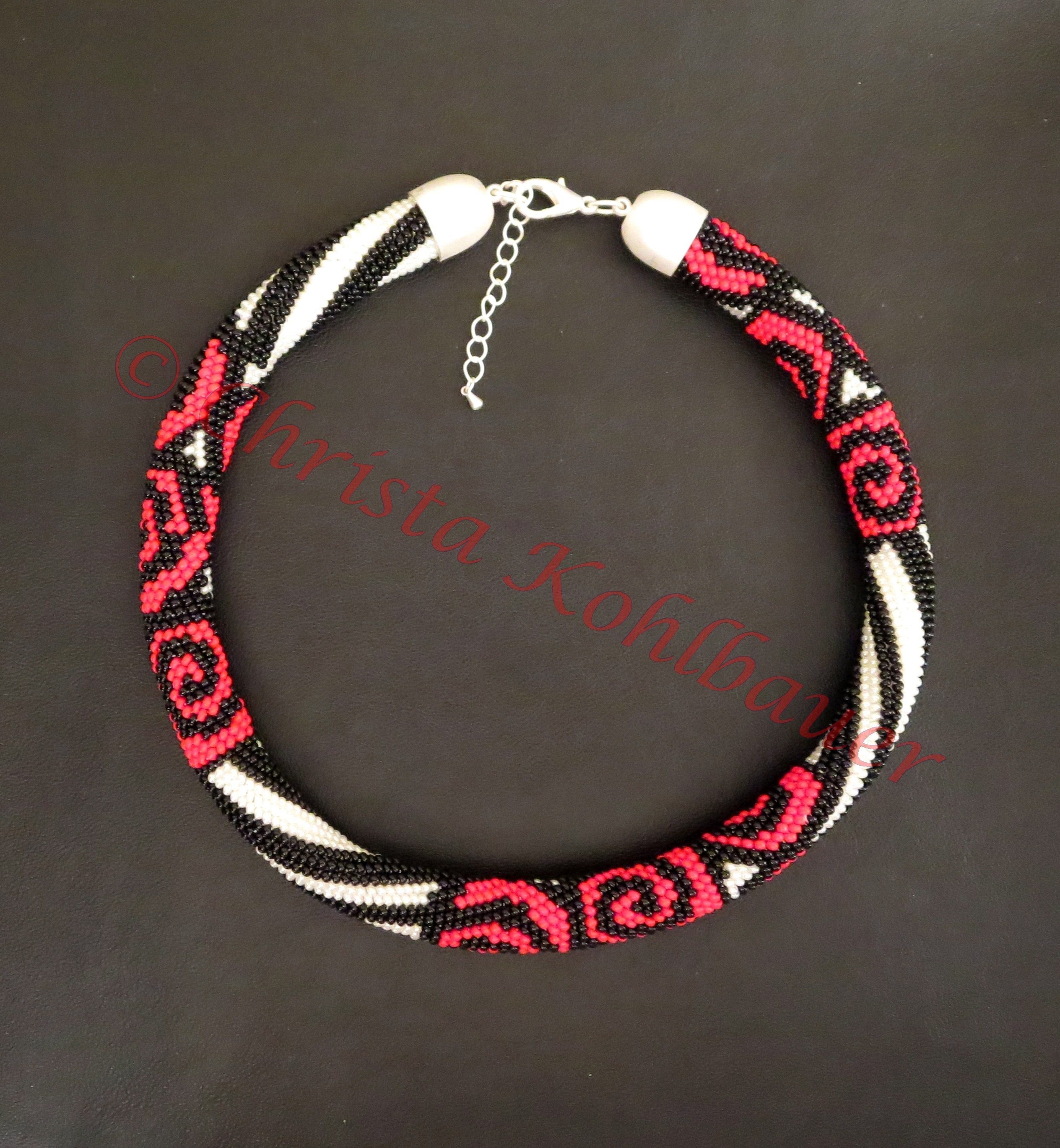 Bead Crochet | Häkelketten | Pinterest | Häkelketten, Perlenkette ...