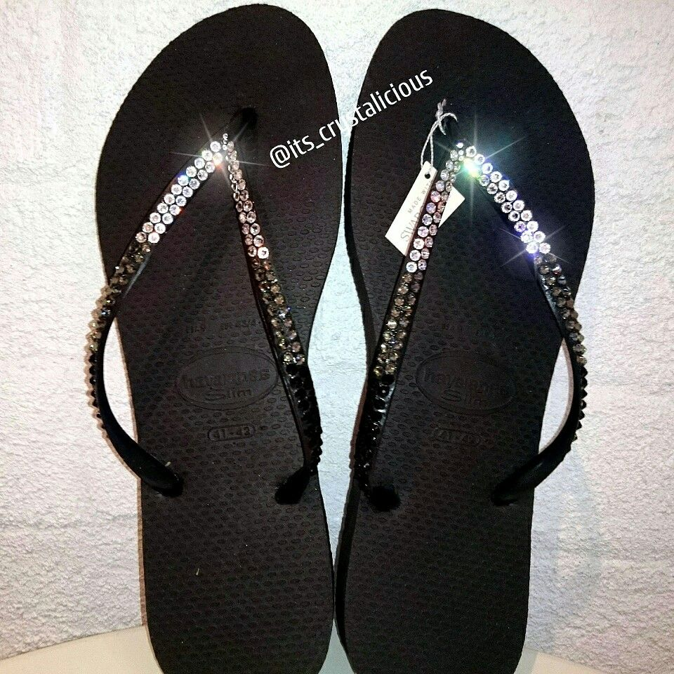 995202cef49d Who loves our Tri colour SWAROVSKI® embellished Havaianas   amazing  bling   bridetobe