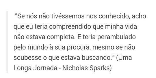 Uma Longa Jornada Nicholas Sparks Quotes De Livros Frases