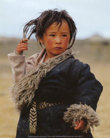 Young Boy, Tibet