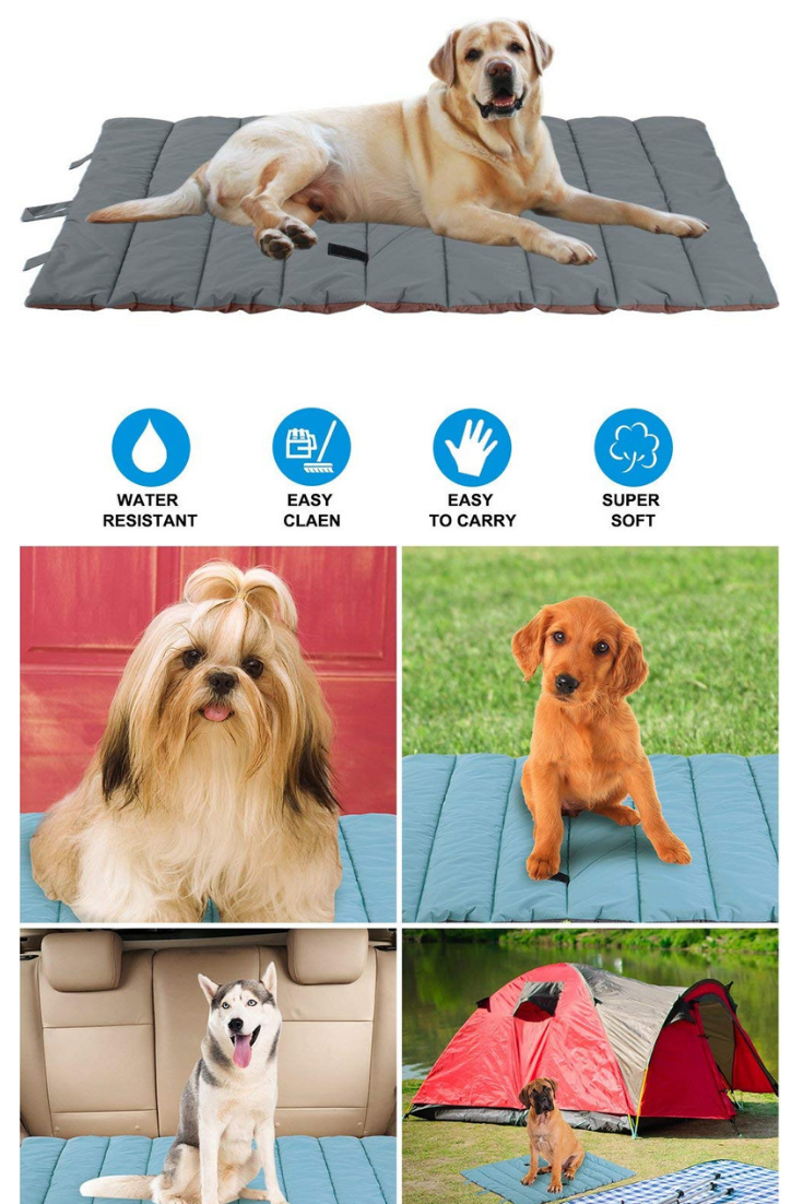 Pupteck Waterproof Pet Bed Mats Cover For Cat Dog Outdoor Cooling Perfect For Funiture Floors Car Seats Lawn Outdoor Dog Extra Large Dog Bed Dog Bed Mat