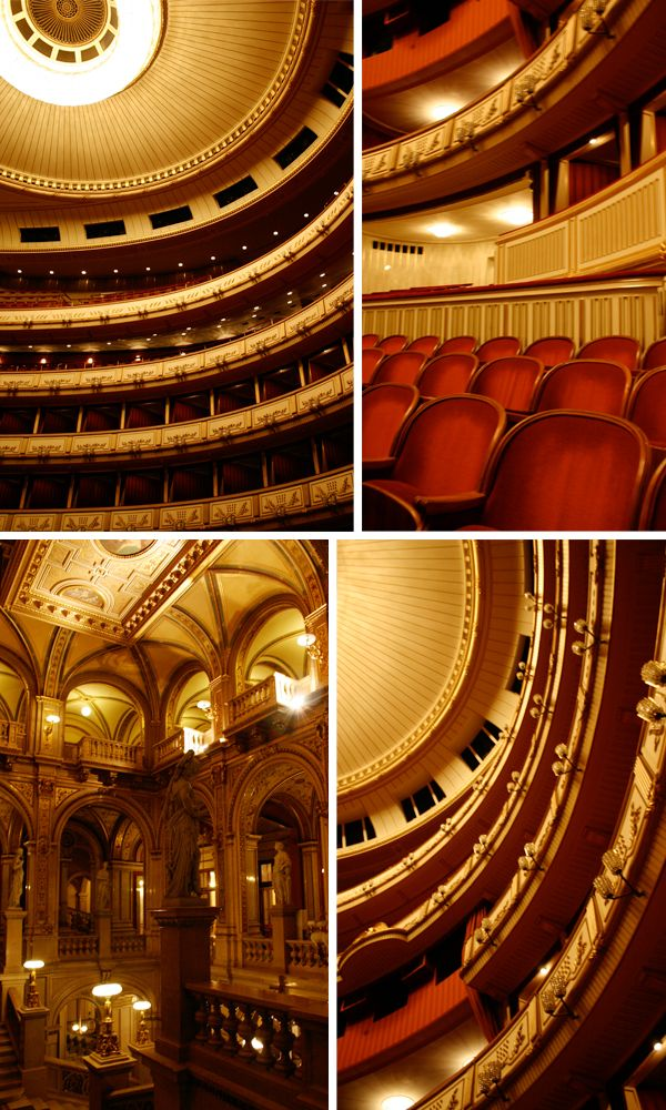 Opera House Staatsoper, Vienna Wish I could have seen this structure when I was in Austria