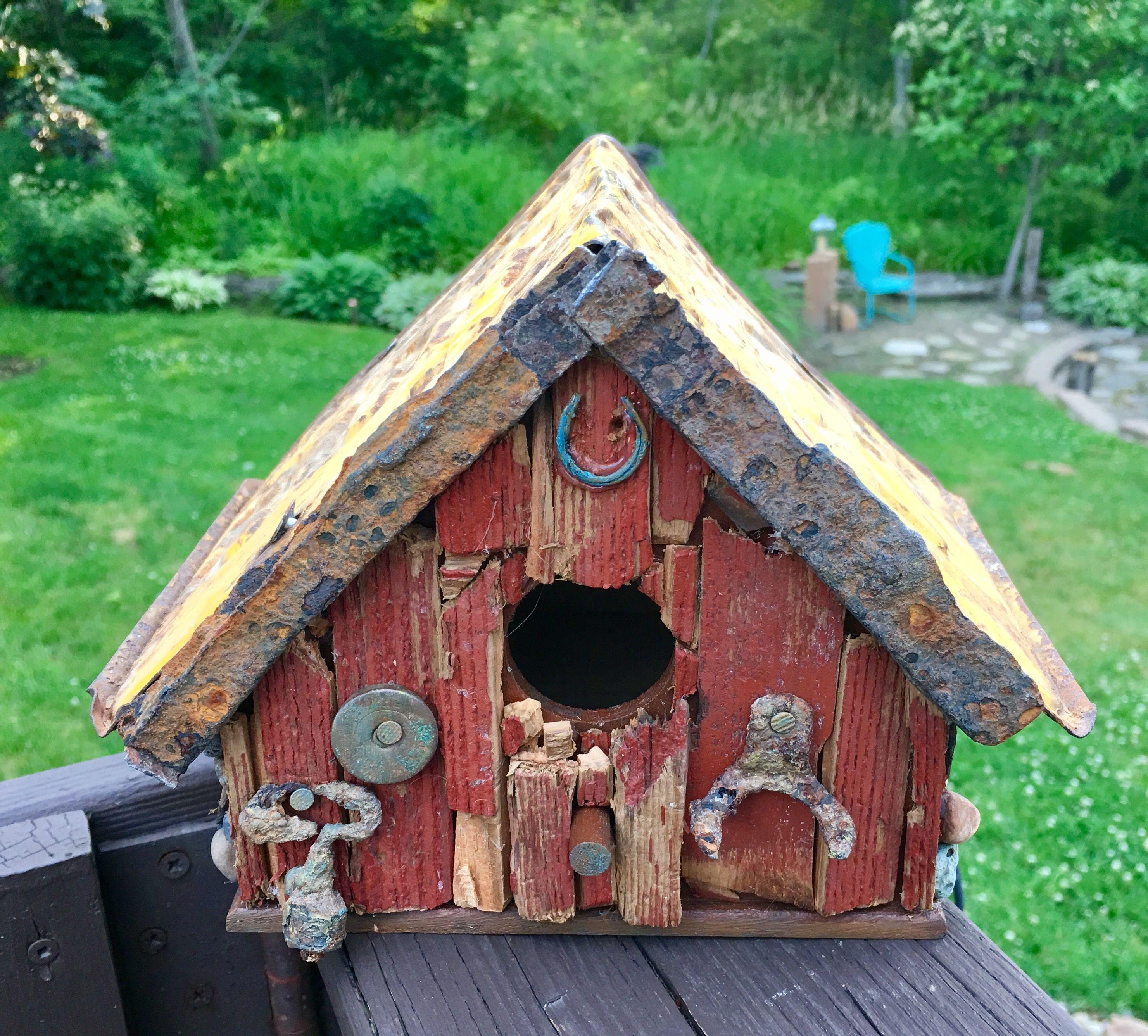 Birdhouse Pin by Monica Offman on Birdhouse