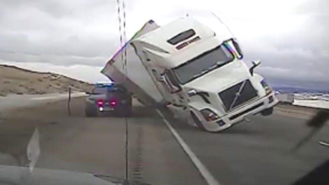 Park Art|My WordPress Blog_Semi Truck Dash Cam Accident