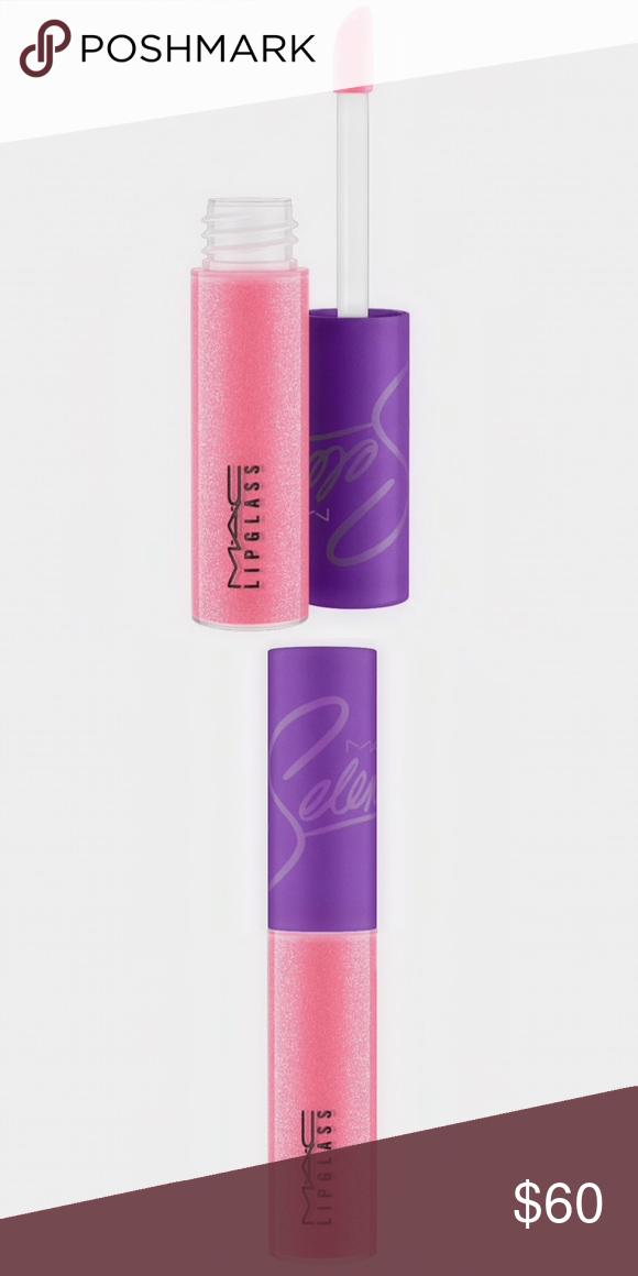 Mac Selena Bidi Bidi Bom Bom Lipglass Lipgloss Nwt Mac Selena Bubblegum Pink Lip Balm Gloss
