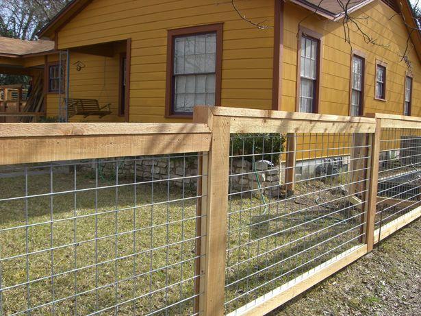 Image Result For Diy Fence Panels Hog Wire Design
