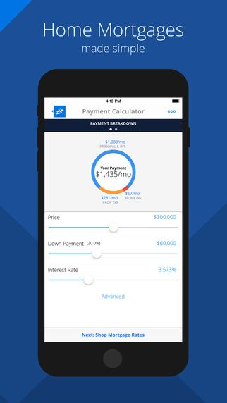 Zillow Mortgages - Calculator Cool Apps for Homebuyers Mortgage