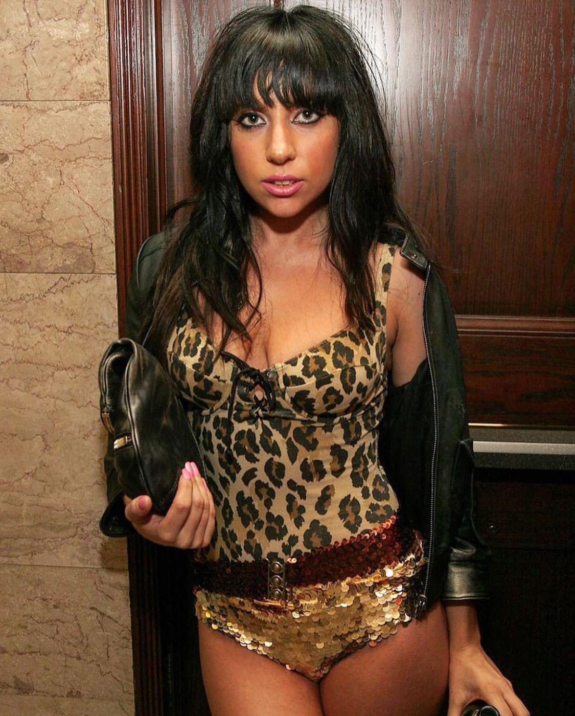 Dark Haired Stefani Germanotta Before She Was Gaga Lady Gaga Photos Lady Gaga