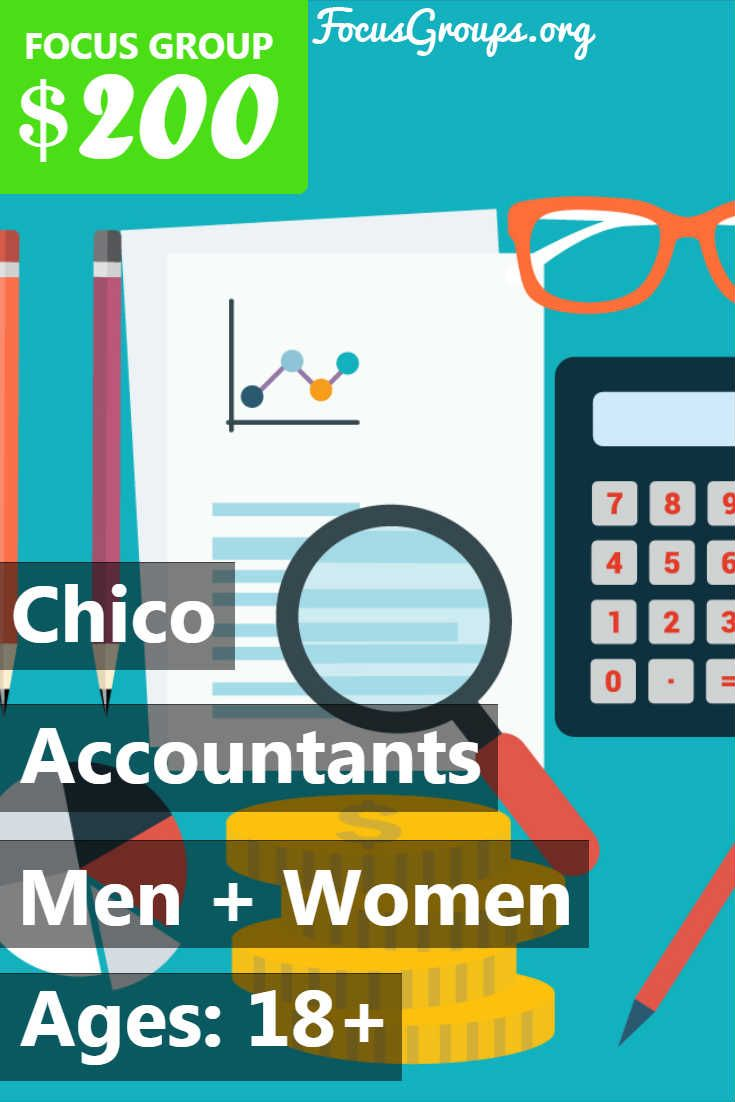 Focus group for accounting professionals in chico