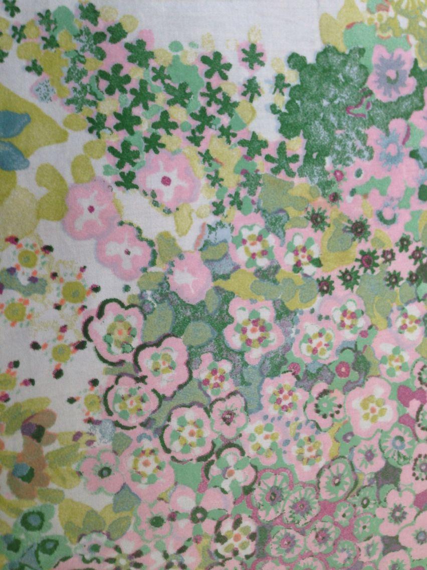 Raymond Waites Bedding Aldridge Bliss Pattern Painting Art
