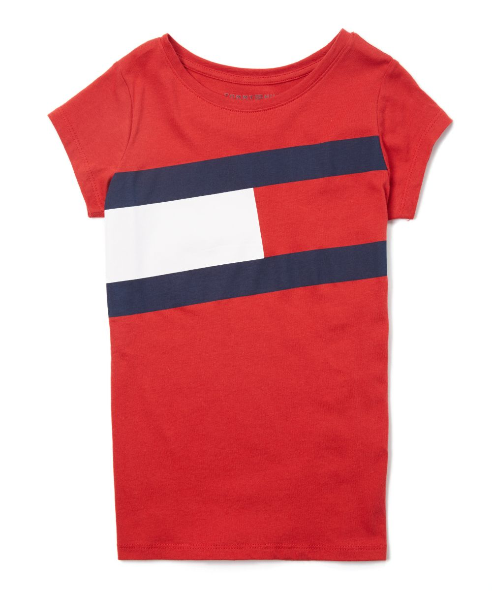 b28cf15c7584 Regal Red Flag Logo Short-Sleeve Tee - Girls
