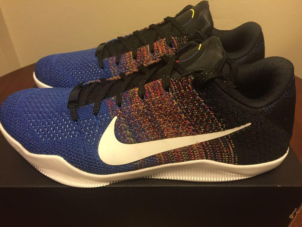 best loved ae824 0856c NIKE KOBE XI ELITE LOW BHM 2016 BLACK HISTORY MONTH 822522-914 11 size 11  shoes  Nike  BasketballShoes