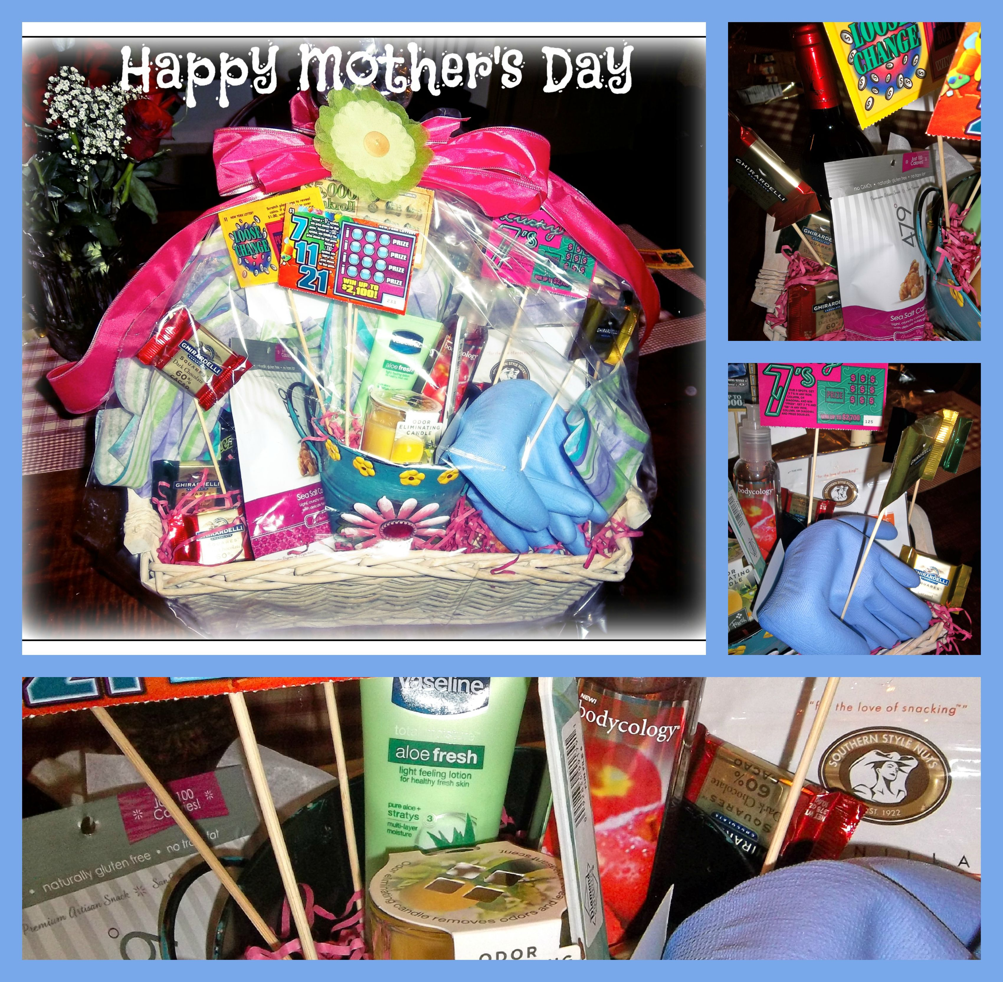 Diy do it yourself gift basket filled with goodies perfect for diy do it yourself gift basket filled with goodies perfect for mothers day solutioingenieria Image collections
