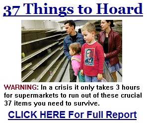 37 Things to Hoard BEFORE the Coming Collapse!  #37items