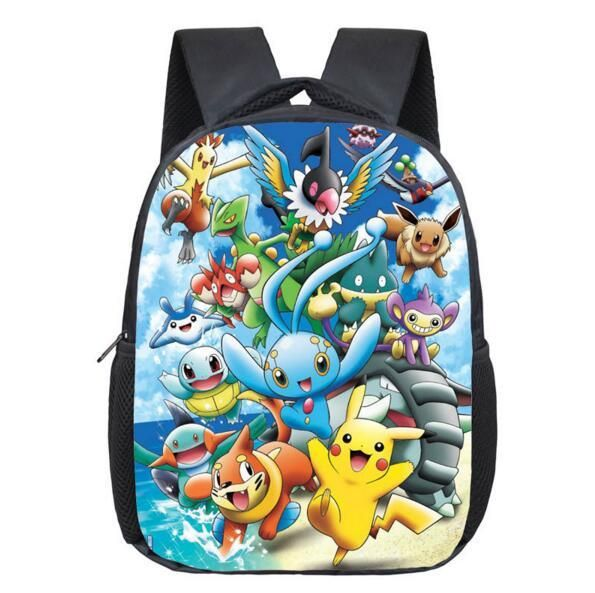 Pokemon Inspired Back To School Backpack Pikachu