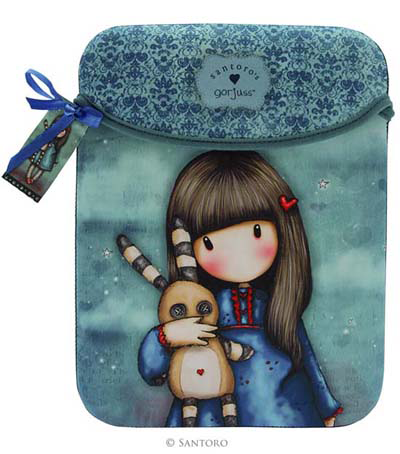 Funda neopreno Ipad y tablet Gorjuss Hush Little Bunny