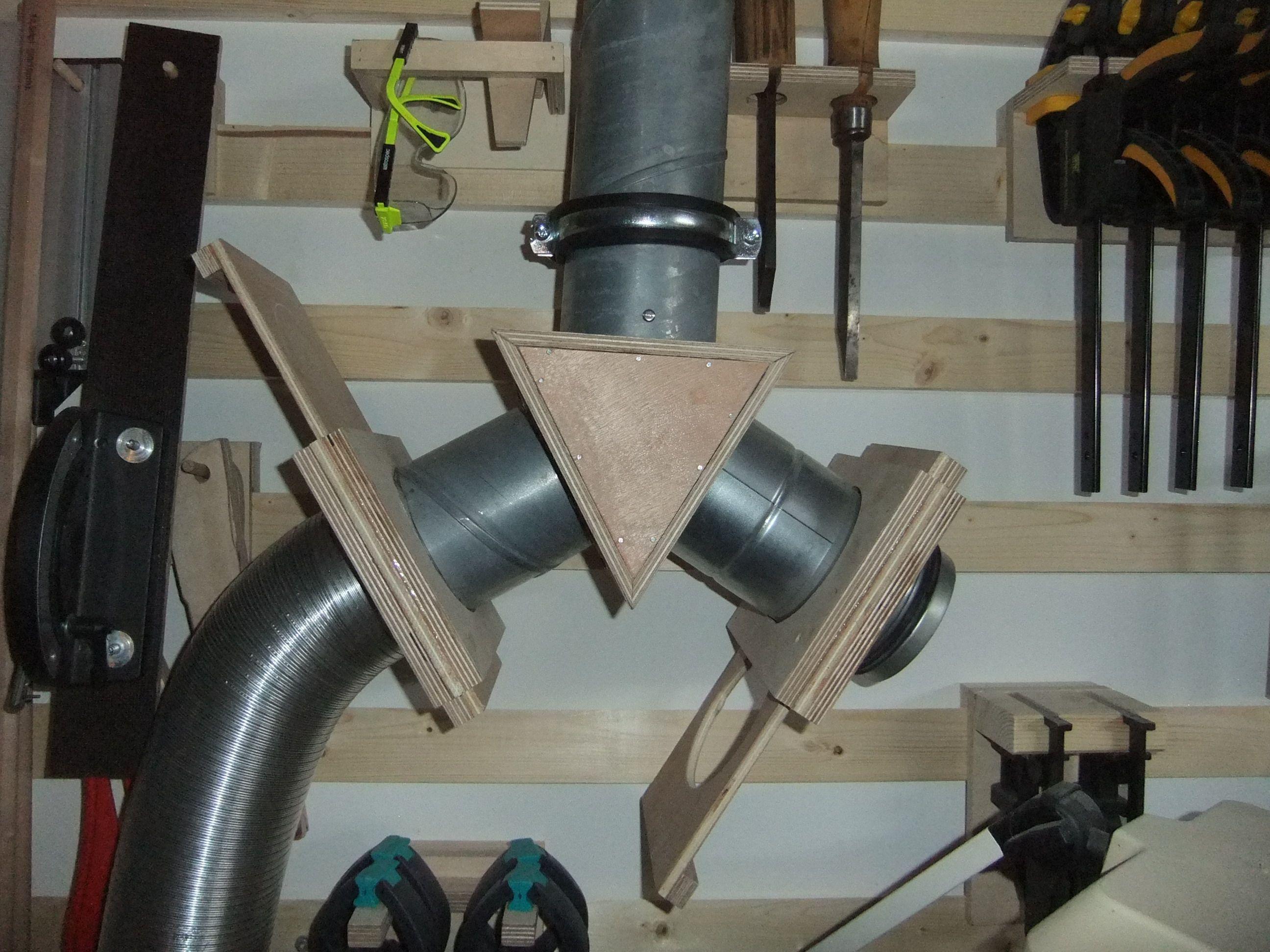 absaugung absperrschieber und verteiler bauanleitung zum selber werkstatt pinterest. Black Bedroom Furniture Sets. Home Design Ideas