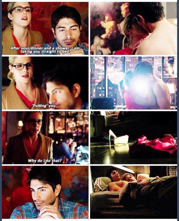 Felicity & Ray #Arrow #NandaParbat