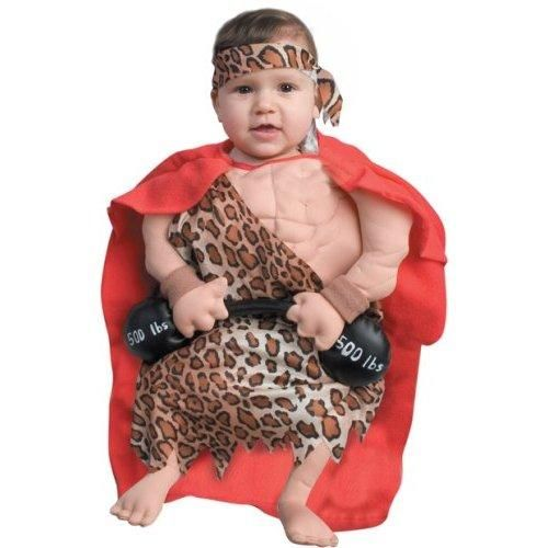 Baby Halloween Costumes | Funny Newborn Baby Muscle Man Costume (0-6 Months)  sc 1 st  Pinterest & Baby Halloween Costumes | Funny Newborn Baby Muscle Man Costume (0-6 ...