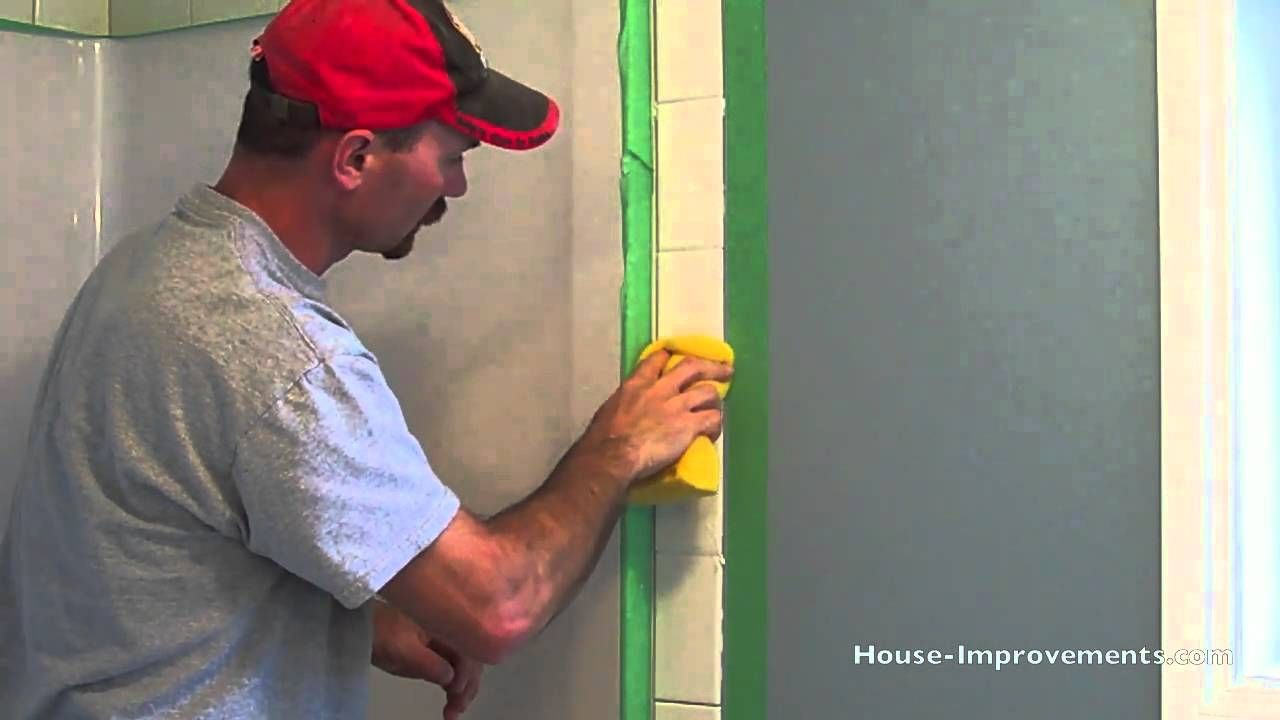 How To Grout Wall Tiles Youtube Wall Tiles Porcelain Wall Tile Tiles