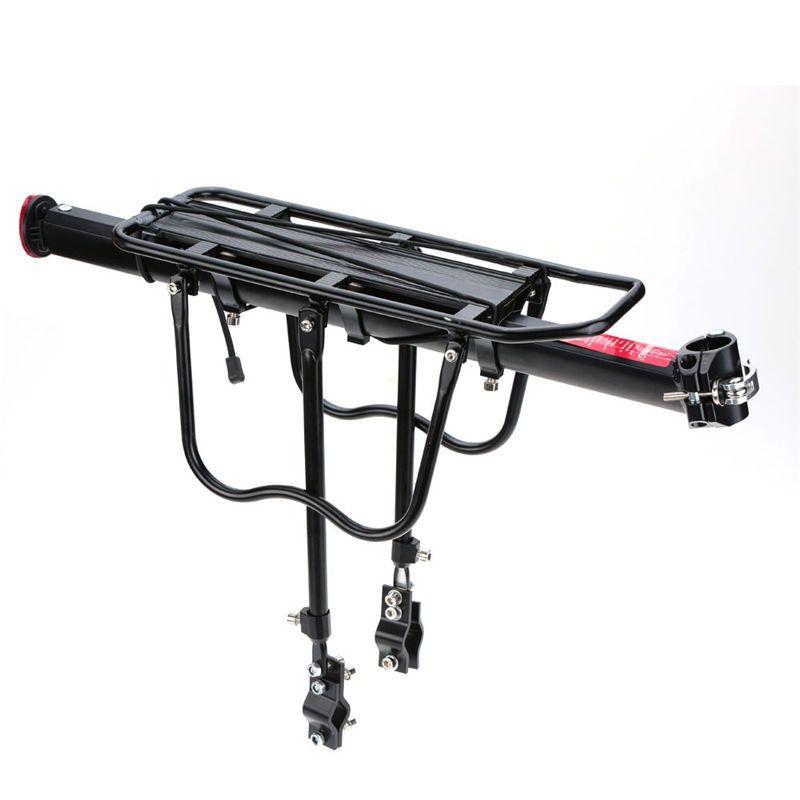 Inner Hexagon Bicycle Cargo Rack Seat Post Rear Bike Carrier Aluminum Alloy