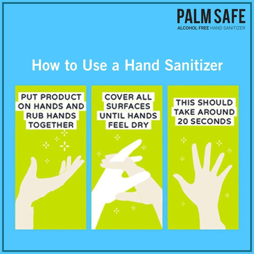 Palm Safe Foam Based Alcohol Free Hand Sanitizer A Complete