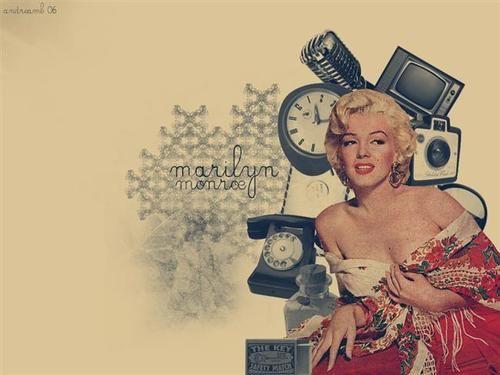 Marilyn Monroe Tumblr Wallpaper Wallpapers Vintage e