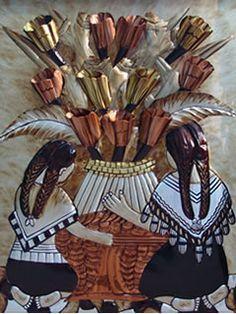 cuadros etnicos indigenas - Buscar con Google