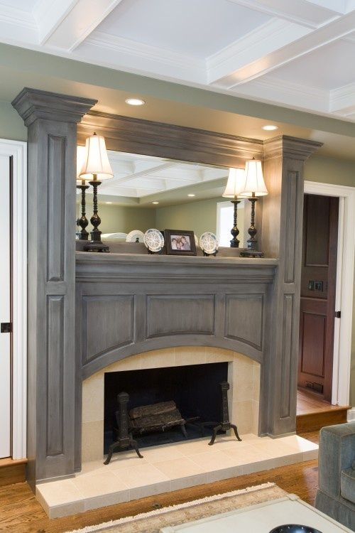 Indoor Fireplace Designs 100s of indoor fireplaces design ideas http://www.pinterest